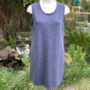32 Degrees Dresses - 32 Degrees Cool Blue Sleeveless Lounge Dress Sz Lg